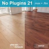 Parquet 21 (2 species, without the use of plug-ins)