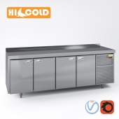 Table refrigerated pizzafied HiCold, set HiCold SN 111, GN 11, GN 33, GN 1