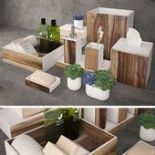 Kassatex, Habitat acacia wood accessories