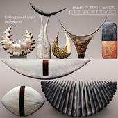 Коллекция скульптур Thierry Martenon 8 шт.