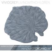 """ковер-одеяло """"VIVIDGREY-WATER LILY"""""""