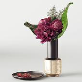 KARE_Vase Largo and Organic Plate