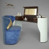 Capital collection dresser Jubilee + chair Vortex + perfume