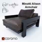 Minotti Alison Armchair