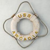 USS Arcadia Life Ring
