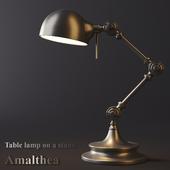 Лампа настольная на подставке - Амалтея