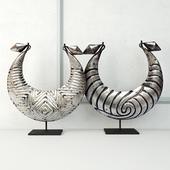 Tribal Metal Necklaces