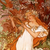 paintings by Alphonse Mucha