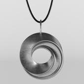 Mobius Strip Necklace