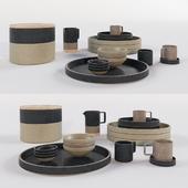 japanese porcelain kitchen set