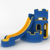 Children's play complex Fortress
