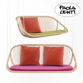 Swing sofa by Paola Lenti