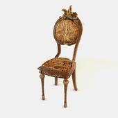 Asymmetric Medallion chair