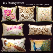 The collection of pillows from Jay Strongwater