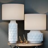 Ceramic Texture Table Lamp - Tall