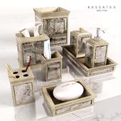 Аксессуары для ванной Palazzo Vintage Mirror от Kassatex
