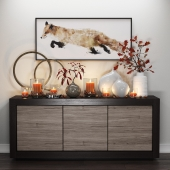 Crate & Barrel | Fox & Candles