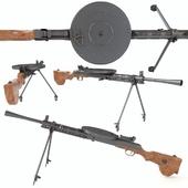 Dp machinegun degtyareva