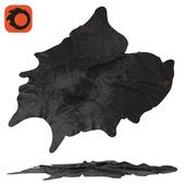 Cowhides Koldbi Ikea, black