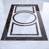 B&W marble floor