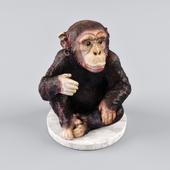 Декоративная фигурка шимпанзе