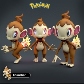 Chimchar - Pokemon Chimchar
