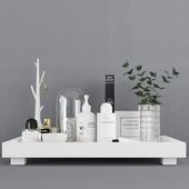 Decorative set / Decor Tray set (Corona + Vray)