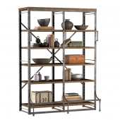 FRENCH LIBRARY WIDE RACK