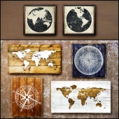 Wooden panels. Collection 14