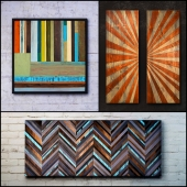 Wooden panels. Collection 15