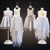 Two children's dresses