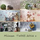 Детские обои Milassa коллекция TWINS