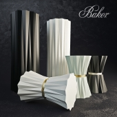 Baker HELIODOR ACCENT TABLE AND PEDESTAL