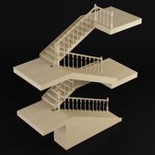 Лестница, Самеба