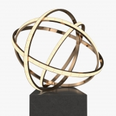 Niamh Barry - Falling light sculpture