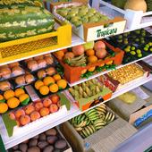 Набор для окружения для магазина: фруктовый отдел