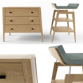 Changing table and dresser from Leander