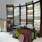 for the store to sell wallpaper and fabrics