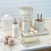Набор элитных аксессуаров для ванной Salle De Bain от Kassatex