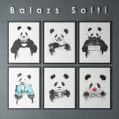 PANDAS OF BALAZS SOLTI