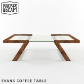 BRICKER & BEAM EVANS COFFEE TABLE