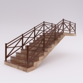 Лестница кантри