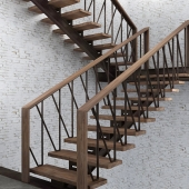 staircase in loft