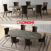 LAYTON Marble Table & MARION Chairs