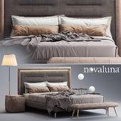 Bed Novaluna QUEEN Fabric bed