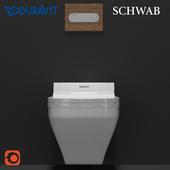 Duravit plus Schwab set