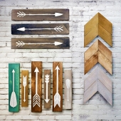 Wooden panels. Collection 18