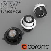 Ceiling recessed lamp SLV SUPROS MOVE (114121)