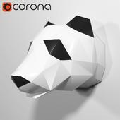 Polygonal panda from Tristan SOOP