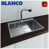 Серия моек Blanco Andano с рекомендованным смесителем Blanco Vonda